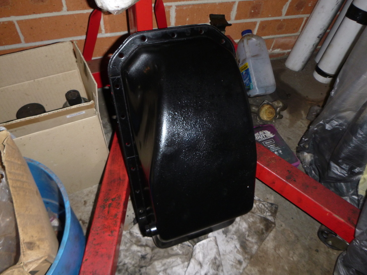 Painted sump