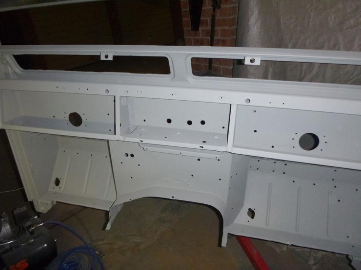 Another bulkhead interior in primer
