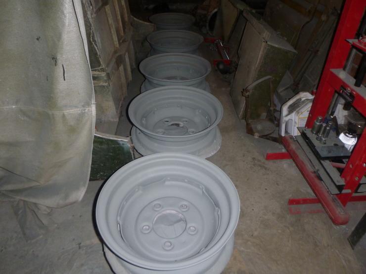 All wheels in etch primer