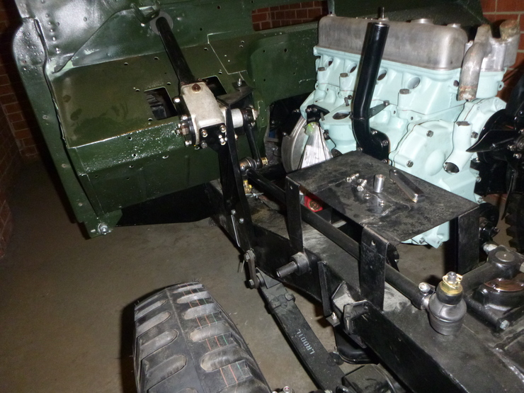 Steering rack and arms