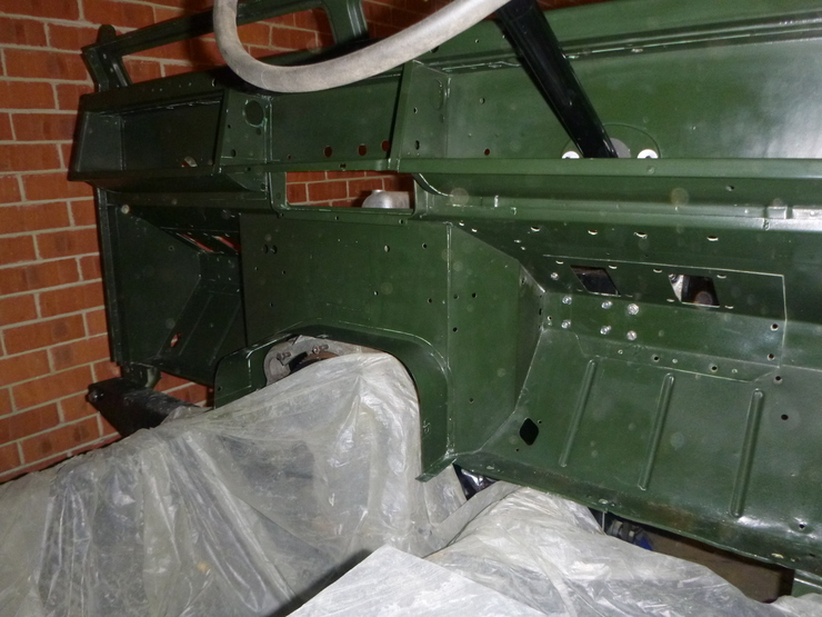 Bulkhead - interior view