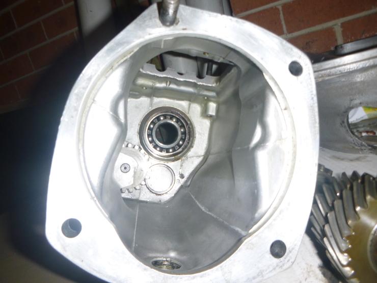 Inside of main casing
