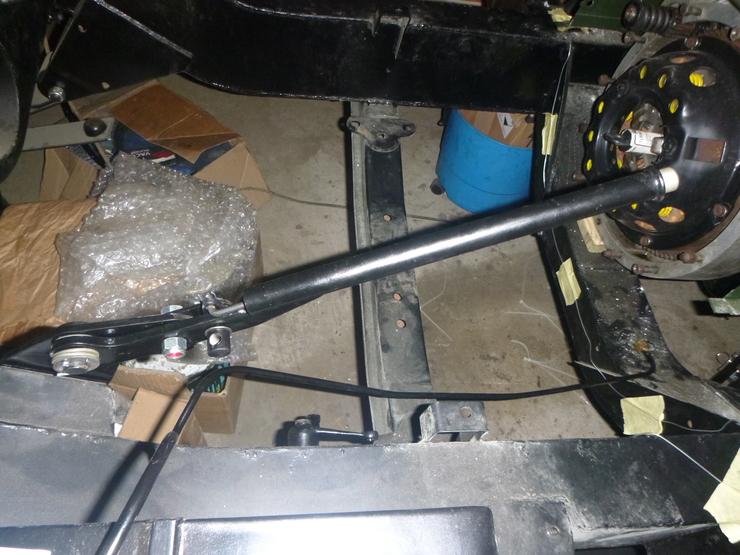 Handbrake installed