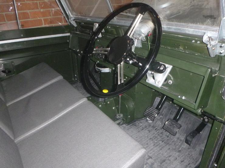 Overall shot of interior